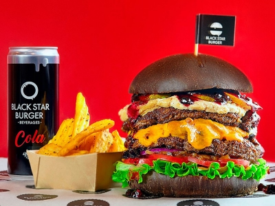 Black Star Burger приходит в Санкт-Петербург