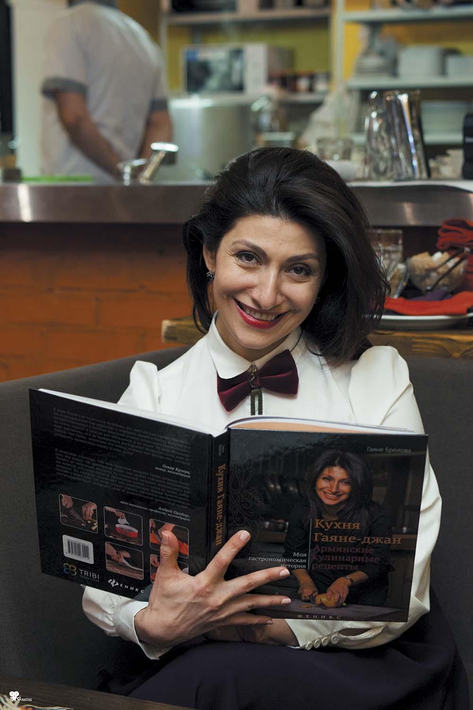 Гаяне Бреиова:  «Я продолжаю хулиганить вресторанном бизнесе»